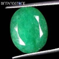 Natural Emerald Brazil 9.95 Cts Oval Cut