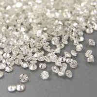 Diamond 1.4 mm White Diamond Natural Africa Clarity I Berlian Asli