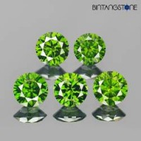 Diamond 1.3 mm Green Diamond 0.01 Cts Clarity VS-I Natural Africa Berlian Hijau Asli 1 pcs