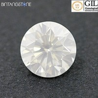 Diamond 0.14 Ct GIL Canada Certified White Diamond Natural Berlian Sertifikat Canada