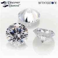 Diamond White Diamond Lot 3 Pcs 0.087 Ct 1.91 Mm Certified Natural Berlian Asli Sertifikat ID1230