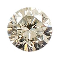 Diamond 2.7 mm White Diamond 0.075 ct Berlian Asli Natural Africa H Color