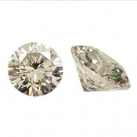 Diamond 2.6 -2.7 mm White Diamond 0.08 Ct Berlian Asli Natural Africa G-I Color