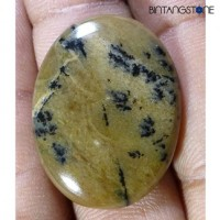 Russian Dendrite 29.3 Cts Natural Rare Oval Cab