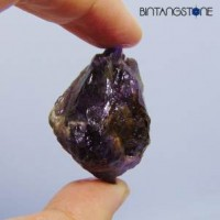 Amethyst Brazil 103.25 Ct Rough Quartz Healing Pointer Specimen Batu Alam Bongkahan Natural Kecubung Ungu Untreatment