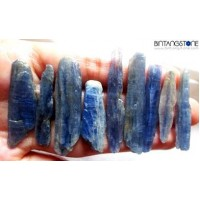 Kyanite Rough Natural Blue Stone from Brazil Sapphire Air 96.87 Ct Wholesale Lot 9 Pcs